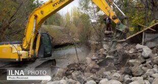 آزادسازی 120هکتار از اراضی زراعی در ساوجبلاغ استان البرز