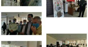 تصاویری از رزمندگان هشت سال دفاع مقدس ساوجبلاغ به نمایش گذاشته شد .