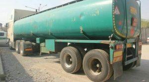 تانکر قاچاق سوخت در کرج