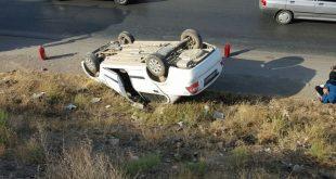 تصادف در آزاد راه کرج-قزوین