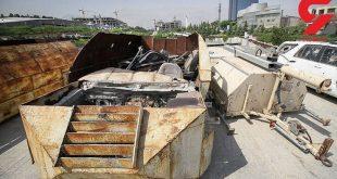 خودرو های داعش در تهران