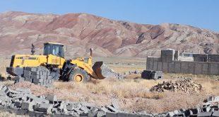 ۵۰ هکتار از اراضی ساوجبلاغ به بستر کشاورزی بازگشت