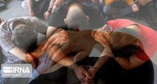 هشت اوباش منطقه گلسار ساوجبلاغ دستگیر شدند