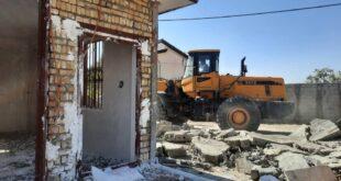 ۷۲ مورد ساخت و ساز غیرمجاز در اراضی ساوجبلاغ تخریب شد