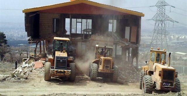 برخورد ۵ برابری با ساخت و ساز غیرمجاز در ساوجبلاغ