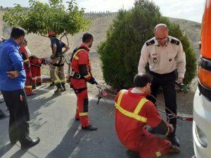 تصاویر ماموران آتشنشانی کوهسار