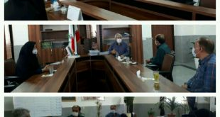 دیدار مدیر جهاد کشاورزی شهرستان ساوجبلاغ با شهردار چهارباغ