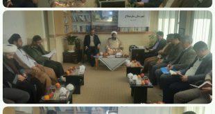 جلسه شورای فرهنگ عمومی شهرستان ساوجبلاغ