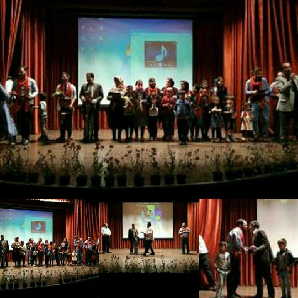 برگزاری مراسم اختتامیه دوبله زنده انیمیشن ریچارد در ساوجبلاغ