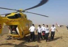سقوط هواپیما در اطراف فرودگاه آزادی نظرآباد