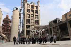 تصویری از کارخانه سیمان آبیک