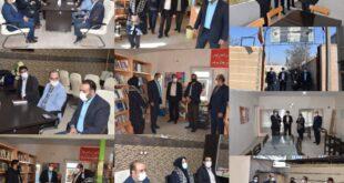 پیگیری وضعیت ساختمان کتابخانه های عمومی شهدای شهر گلسار در راستای خدمات رسانی بهتر به شهروندان
