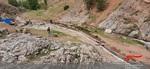 بهره برداری از کانال انتقال آب کشاورزی روستای فشند شهرستان ساوجبلاغ توسط جهادگران